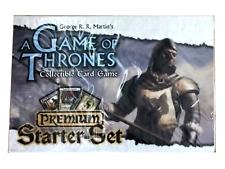 A Game Of Thrones Collectible Card Game Premium Starter Set Deck - TCG FREE SHIP