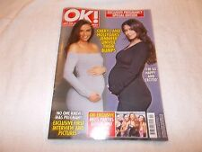 OK! Magazine Issue 1073 March 7th 2017 Cheryl Cole Pregnant Jennifer Brit Awards