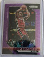 2018 Prizm Purple Wave #176 Josh Richardson, Miami Heat