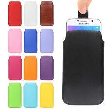 Urcover® Pull Tab Universal Handy Schutz Hülle Smartphone Cover Case Etui Tasche
