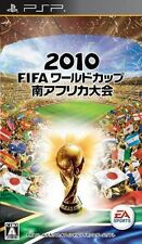 Used PSP 2010 FIFA World Cup South Africa  SONY PLAYSTATION JAPAN IMPORT