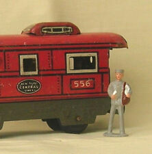 Mailman delivering letters, O scale model train layout figure, Reproduction