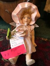 R. John Wright Doll Flower Faries Series Sweet Pea Baby Fairy #143