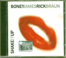 Boney James & Rick Braun. Shake It Up (2000) CD NUOVO Grazin' In The Grass. RSVP