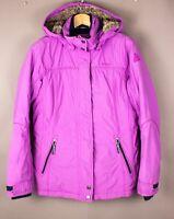 Gaastra Femme Imperméable Ski Veste Parka Manteau Taille M ATZ311