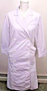 Adar Women Doctor Nurse Uniform Multiple Pockets Princess Cut Lab Coat