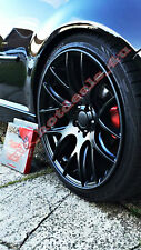 Scuffs by Rimblades Car Tuning Black Alloy Rim Protectors Tyre Guard Line Rubber
