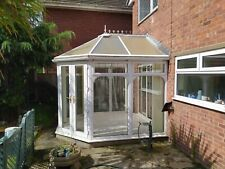 More details for used white upvc conservatory approx. 7.7sqm