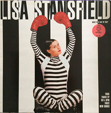 """Lisa Stansfield    What Did I Do To You?   EP   45RPM   12""""   4 Tracks    613168"""