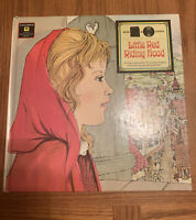 Little Red Riding Hood Read & Listen Columbia 1967 Book & 45 Record
