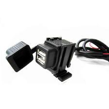 Motorrad Lenker Ladegerät Dual USB 12V Adapter Leistung Liefern Steckdose