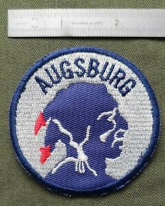 """Augsburg American High School """"Apache"""" Patch, Augsburg Apaches, Augsburg Germany"""