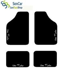 Fiat Uno zugeschnittene Autoteppiche Matten + 4 Dekorationen + 4block