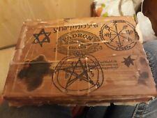 Authentic Dybbuk Box*Extremely Active Demonic Presence*