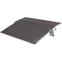 Vestil Economizer Dockplate-Aluminum 4600-lb Cap 30inL x 60inW #E-6030