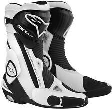 Alpinestars Alpinestar SMX Plus Motorcycle Motorbike Boots - Black / White NEW