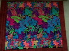 Psychedelic Color Designer Scarf Wall Hanging Sessa Brand