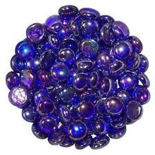 Glass Pebbles Home Garden Wedding Mosaic Crafts | Lots Quantities & Colours Royal Blue 1500