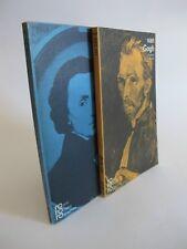 Konvolut 2 Taschenbücher van Gogh & Chopin Rowohlt K1622