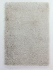 SPARKLY Super Soft Plain NATURAL Luxurious DEEP PILE Shaggy Indulging Rugs XS-L