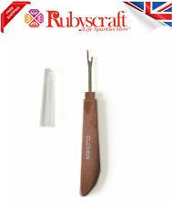 Clover Seam Ripper Sewing Tool & Cap - Stitch Thread Unpicker Button Hole Cutter