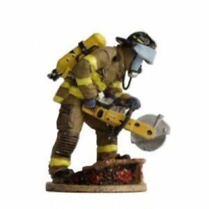 BOM051 New York USA tin Lead Firefighter Fireman Figure DelPrado 1:32