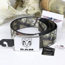 Dodge Ram Mossy Oak break up web Belt nylon Cinturón textil cinturón alcance hasta 125cm