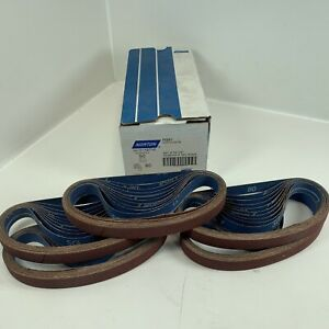 "NORTON SG COATED FILE BELT R981 3/4""x 20-1/2"" 80 GRIT 78072718716 50/PK"