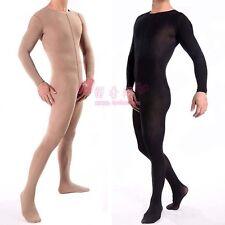 Men's Bodystockings Sexy Lingerie Ultra Elastic Core-spun Yarn Bodyhose Fetish