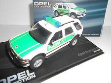 OPEL FRONTERA B POLIZEI 1999-2003 OPEL COLLECTION  EAGLEMOSS IXO 1/43