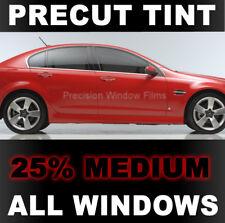 PreCut Window Film 5/% VLT Limo Black Tint for Honda Accord 4dr Sedan 1996-1997