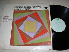 SQUARE DANCE FESTIVAL WITH R.J.DEAN *Rare Original Country on Privatelabel*