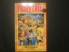 Fairy Tail 5 by Hiro Mashima (2009, Paperback)