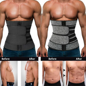 Waist Shaper Slimming Remove Men Sport Vest Slimming Belt Body Shaper DE