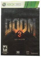 Doom 3 BFG Edition [Xbox 360 XB360, Includes Doom & Doom II, Action FPS] NEW