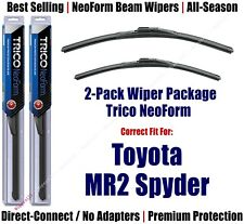 2pk Super-Premium NeoForm Wipers fits 2000-2005 Toyota MR2 Spyder 16200/190