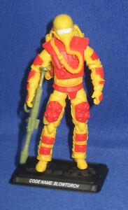 "GI Joe Blowtorch 4"" Action Figure 2008 Loose Cobra 25th Anniversary Hasbro"