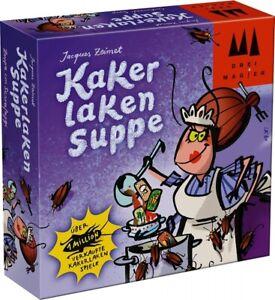 DREI MAGIER SPIELE 40843 Kartenspiel - Kakerlaken Suppe