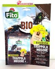 FITO BIOFITO RICARICA TRAPPOLA x MOSCHE 3 buste x20gr ATTRATTIVO NON TOSSICO BIO