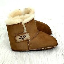 UGG Erin Sheepskin Boots Infant size L 6-7 Chestnut Booties Suede