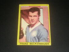 FOOTBALL SOCCER CHAMPIONS STICKERS ALBUM PANINI 1966/67 BECKENBAUER GERMANIA-MAX