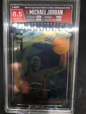 1994 COLLECTORS CHOICE #402 Michael Jordan GOLD SIGNATURE Platinum Foil! HGA 8.5