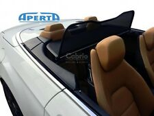 Mercedes Benz E-Class A207 Convertible   Black Wind Deflector + Bag   2010-2016