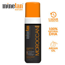 MineTan 1 Hour Express Self Tan My Moroccan Foam Argan Oil Bronze Glow - 200ml