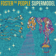 Foster The People ‎– Supermodel Vinyl LP Startime ‎2014 NEW/SEALED 180gm