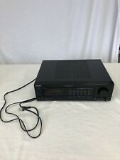 Sony TA-AX390 Black Stereo 5 Band Equalizer Acoustic Controlled Amplifier