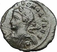 CRISPUS son of CONSTANTINE the GREAT 322AD Ancient Roman Coin Trier i54912