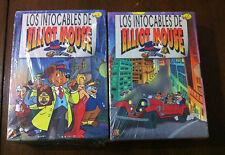 LOS INTOCABLES DE ELLIOT MOUSE - VOLUMENES 1 & 2 - 6 DVD - NUEVA Y EMBALADA