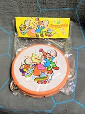 Vintage Toy Tambourine New in Package Hong Kong