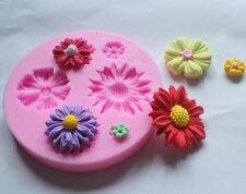Silicone Clay Soap Flower Mold Fondant Sugar craft Chocolate Cake Decor Tool